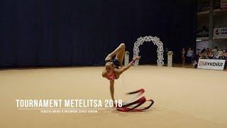Фадеева Мария Н.Новгород (2003) Лента Rhythmic Gymnastics Tournament Metelitsa 2018