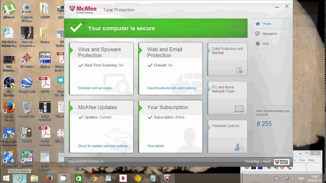 Fixit Mcafee total protection firewall antivirus review