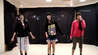 天久舞子 亀田亜依音 りのんの3人の初恋サイダー練習風景.