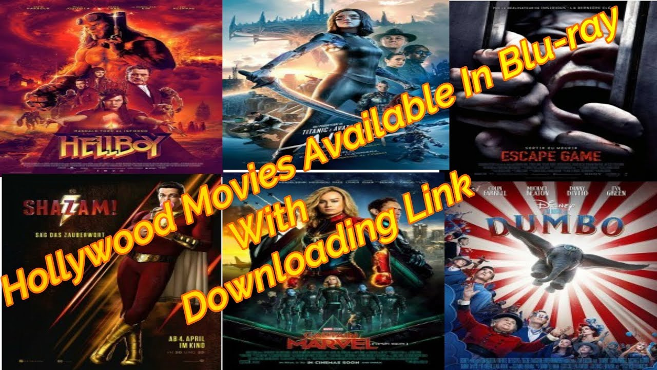 Latest Hollywood Dual Audio Movies (2019) Available Bluray