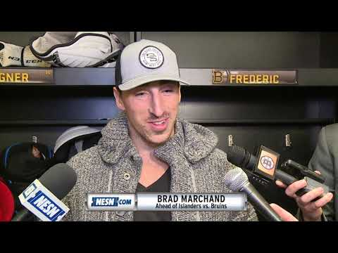 Brad Marchand on Patrice Bergeron's 1,000th game as a Bruin
