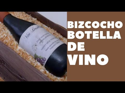 Bizcocho Caja y Botella de Vino - YouTube