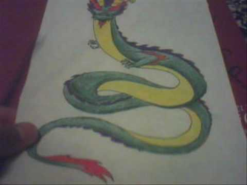 how to draw an awesome chinese dragon