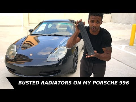 How to replace radiators and resistors on Porsche 996