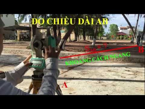 DO CHIEU DAI BANG MAY KINH VI    HOC TRAC DIA TREN YOUTUBEI