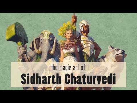 The Magic Art of Sidharth Chaturvedi