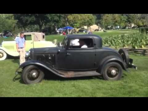 starting a 39 32 ford 3 window coupe youtube. Black Bedroom Furniture Sets. Home Design Ideas