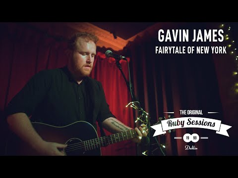 Gavin James  Fairy tale of New York  at The Ruby Sessions