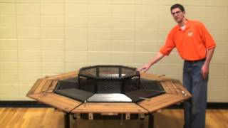 Firepit Grill & Table -the Jag Grill - Dome
