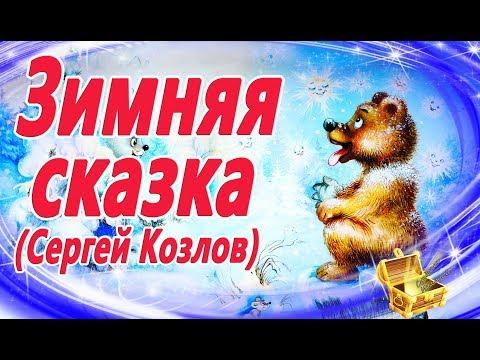 Зимняя сказка, С. Козлов. Мультики и Сказки на ночь. Видео сказка на ночь