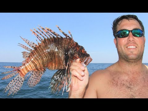 2018May18 LionFish World Championship LRAD Day 1 Team Parkerized
