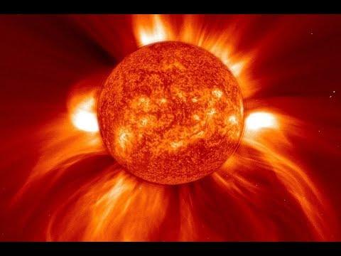 Яростный солнечный шторм обрушился на Землю. Удалось записать как колеблется магнитосфера Земли.