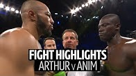Lyndon Arthur v Emmanuel Anim fight highlights | 12 round back-and-forth war!