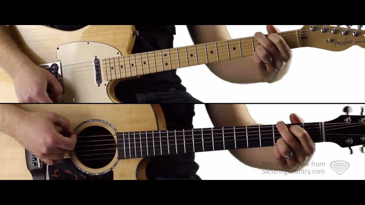 Wanted Hunter Hayes Guitar Lesson And Tutorial Youtube