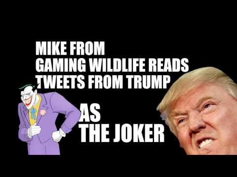 Mike Reads Trump Tweets as The Joker