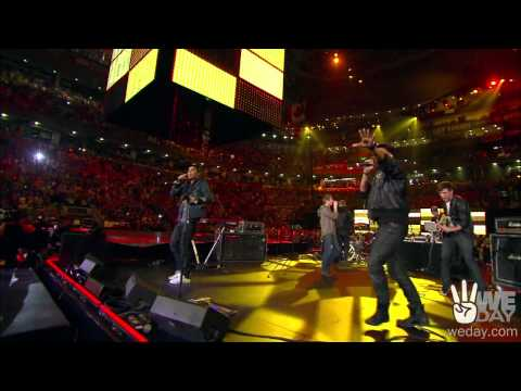 Down with Webster - Your Man - Live at We Day 2010