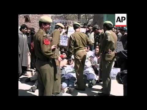 KASHMIR: INVESTIGATION INTO DEMONSTRATION VIOLENCE
