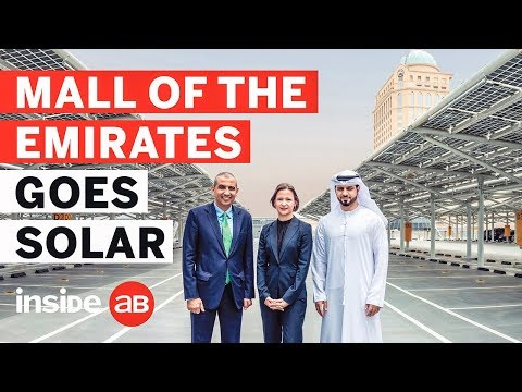 Mall of the Emirates solar transformation