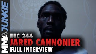UFC 244: Jared Cannonier full MMA Junkie interview