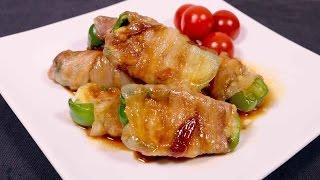チーズたっぷり!ピーマンの肉巻き   Cheese plenty! Meat of sweet peppers   kurashiru [クラシル] thumbnail
