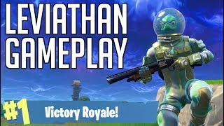 *NEW SKIN* - LEVIATHAN - FORTNITE Battle Royale [No Commentary Gameplay]