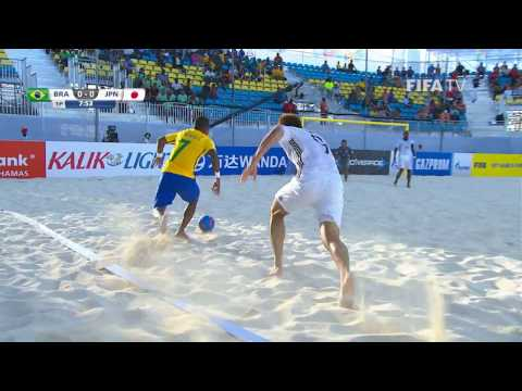 Match 23: Brazil v Japan - FIFA Beach Soccer World Cup 2017