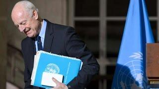 الأمم المتحدة لن تجدد مهمة دي ميستورا كمبعوث لسوريا  تقرير: مسك الماضي