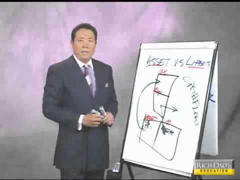 Robert Kiyosaki - New Rules of Money, Part 4/7: Assets Vs. Liabilities