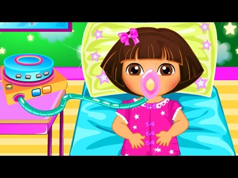 Dora The Explorer Baby Dora Disease Doctor Game Dora The