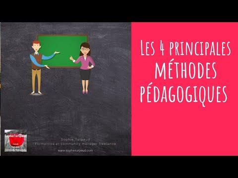Voici les 4 principales méthodes pédagogiques en formation