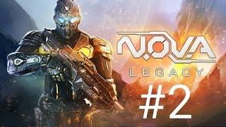 #2 прохождение N.O.V.A Наследие на андроид!