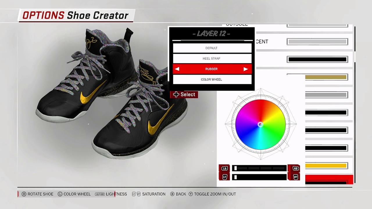 232a49cf12d2 NBA 2K18 Shoe Creator - Nike LeBron 9