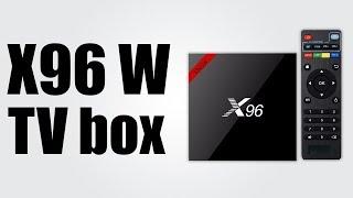 X96 W TV box - Android 7.1 / Bluetooth 4.0 / 10-bit HDR, Mali 450MP GPU