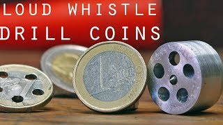 Very Loud Whistle using Coins •  ft Giaco Whatever