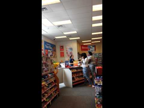 Woman goes off over a pack of Newports