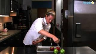 كيف تسوين حلويات التفاح