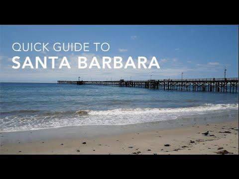 A Quick Tour Of Santa Barbara, CA
