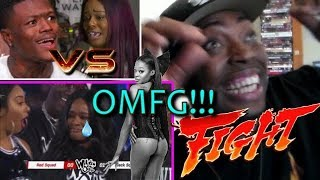 HE MADE HER CRY!!! Azealia Banks vs. DC Youngfly FULL FIGHT on Wild 'N Out REACTION!!!