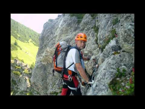 Klettersteigset Salewa : Salewa klettersteig youtube