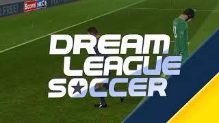 Manchester United x Arsenal. Dream League Soccer