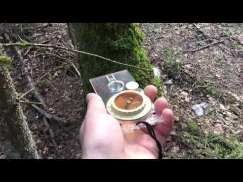 Определение сторон света по компасу и по приметам