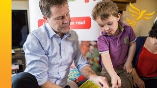 Nick Clegg visits Duncan Hames in Chippenham