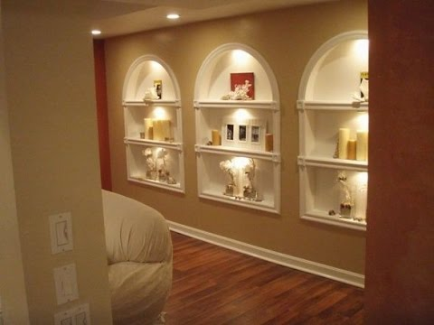 Wall Lights with Built-In Shelf