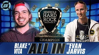 All-In Poker Podcast feat. Blake Vita + Evan Jarvis