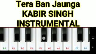 tera-ban-jaunga-instrumental-kabir-singh-mini-part-piano