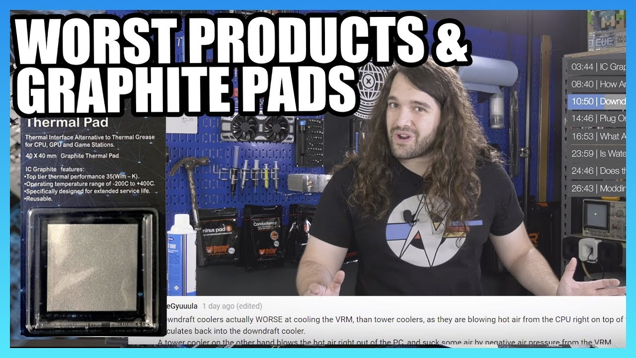 Ask GN 83: IC Graphite Thermal Pads, Worst Products Reviewed