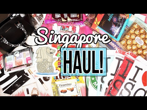English Haul : What To Buy in SINGAPORE?! (SG 2017)
