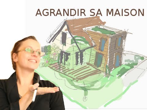 Construire une extension de maison youtube for Agrandir sa maison par le toit