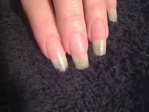 Whitening The Tips Of Your Natural Nails