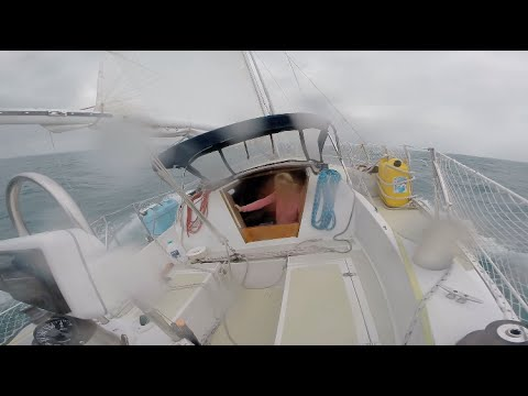 SAILING IN HIGH WIND SQUALL